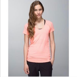 Lululemon Run Swiftly Tech V Neck Flare Shirt